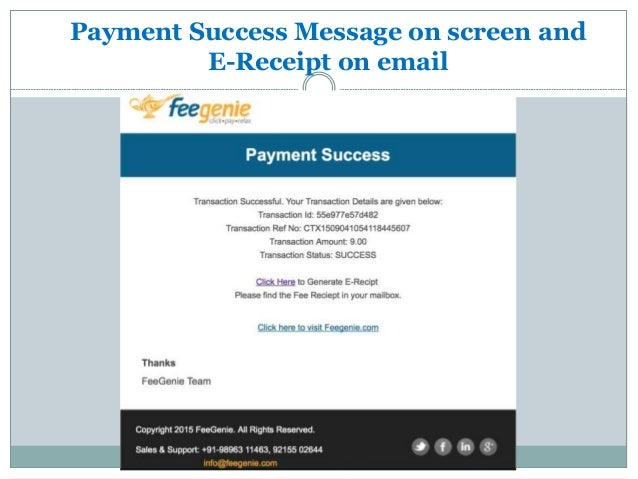 payment of fees online to school