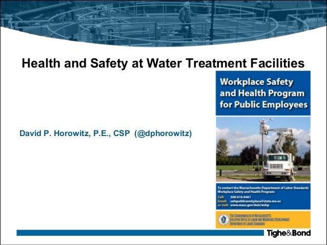 Biological hazards in sewage and wastewater treatment plants: hazard alert.