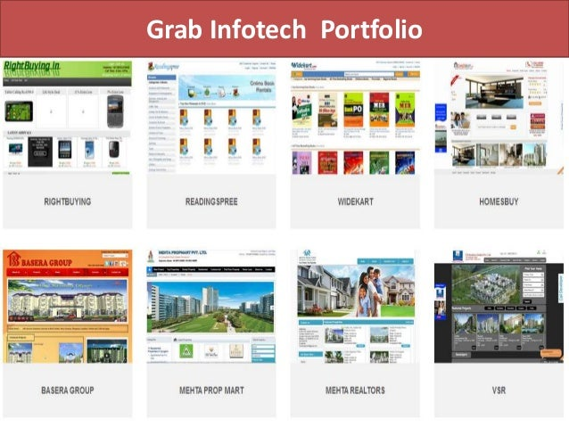 Grab Infotech Portfolio