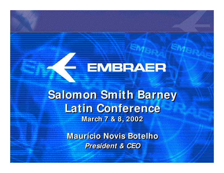 a236843f27d4 Presentation for Salomon Smith Barney Latin Equity Conference