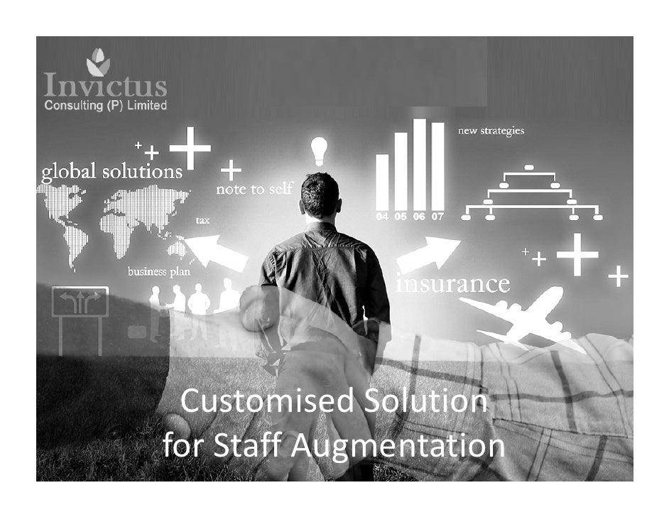 Customised Solutionfor Staff Augmentation