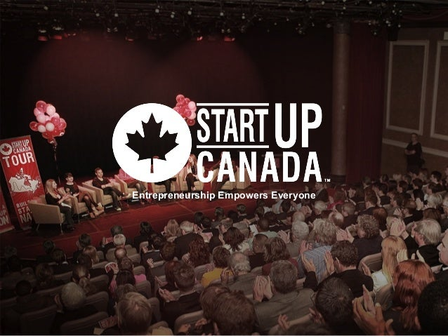 2013 PARTNERSHIPS Entrepreneurship Empowers Everyone Entrepreneurship Empowers Everyone
