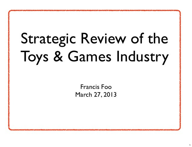 Uk toys and games industry