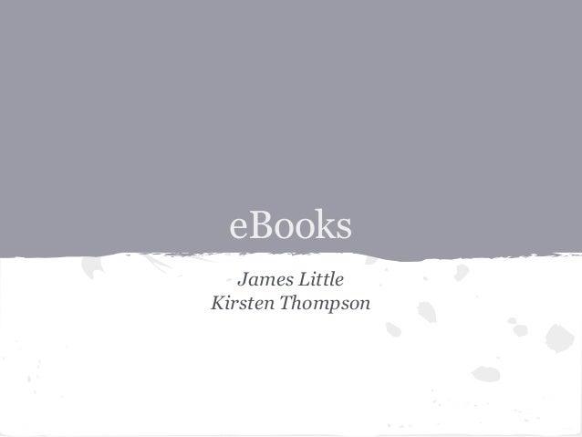 eBooks James Little Kirsten Thompson