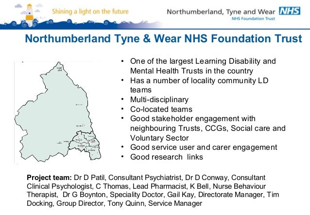 Northumberland Tyne Wear Medication Project