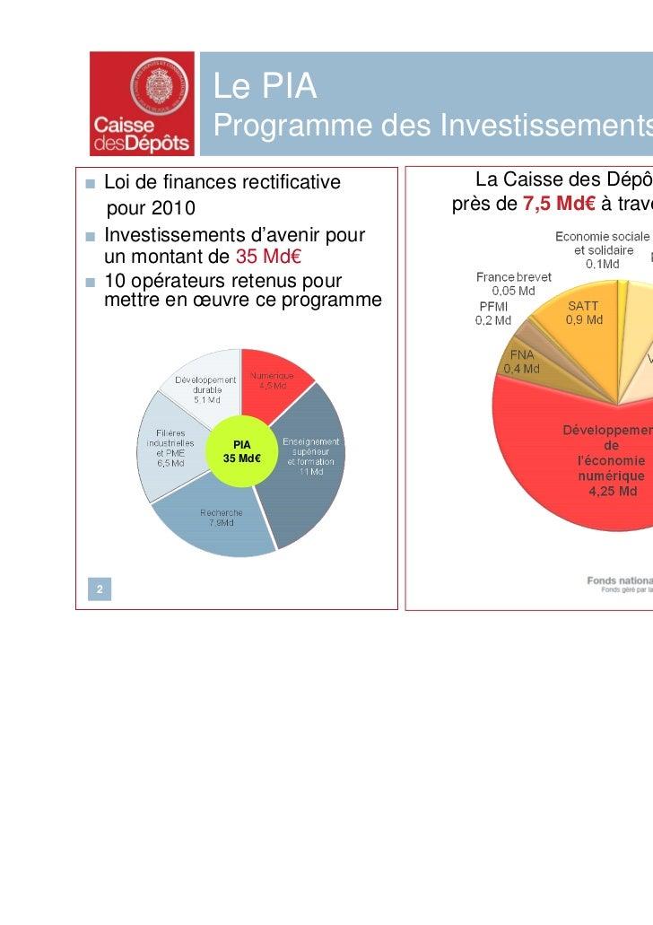 Presentation du Fonds national pour la Société Numérique Slide 2