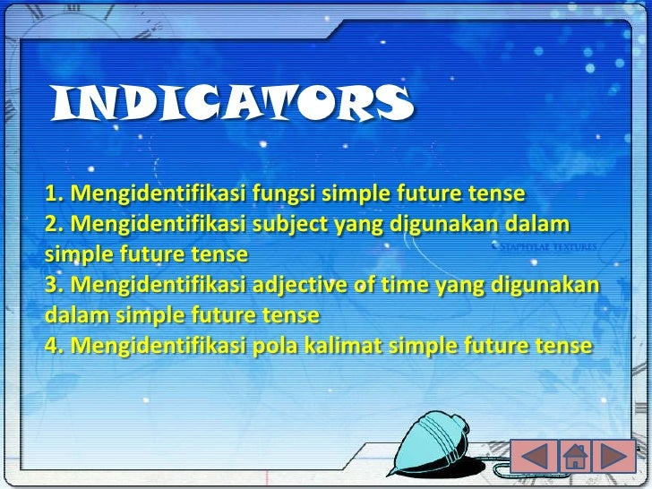 Presentation Simple Future Tense