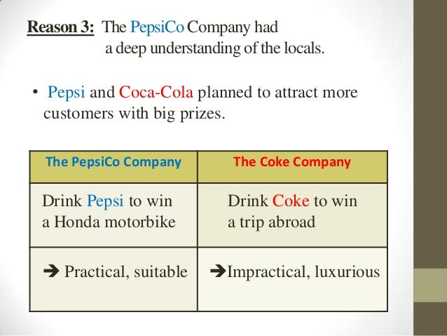 pepsicos strategy Pepsico is chopping 8700 jobs and boosting its marketing budget by as  told  investors in a meeting following a months-long strategic review.