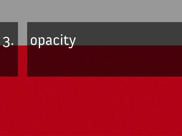 """Full solution: opacity .opacity { color: #fff; background-color: #3C4C55; opacity: 0.2; -ms-filter: """"progid:DXImageTransfo..."""