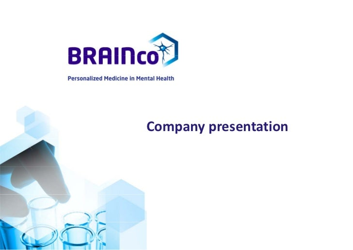 BRAINco BiopharmaContext and Background
