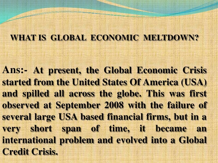 effect of global financial crisis on Egypt's financial crisis  pre-global financial crisis given the immense effect of the global financial crisis on the world economic and financial.