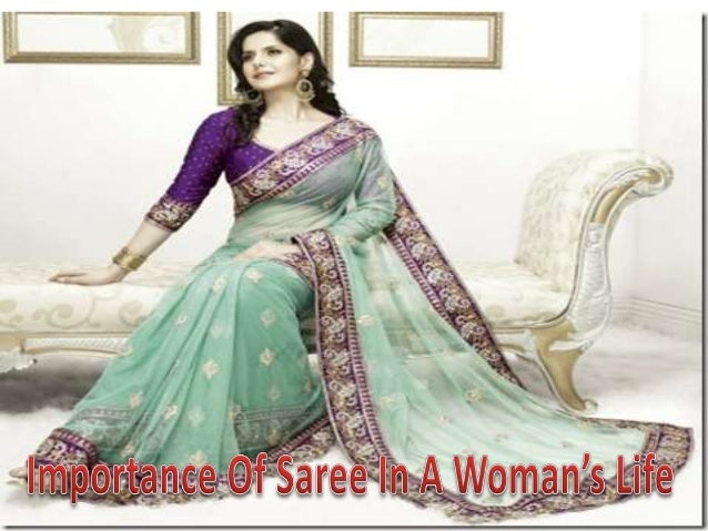 Saree is one of the most valued possessions of a woman  Though there are so many apparels available for woman, the wear is...
