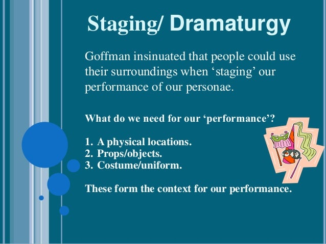 goffman snippets