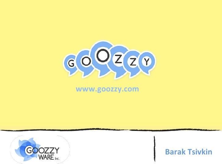 Barak Tsivkin www.goozzy.com