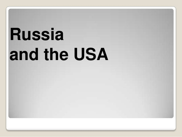 Russiaand the USA
