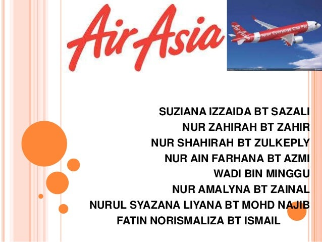 the airasia company strategic management Strategic management: airasia strategic management content step 1 identify the  firm's existing vision,  airasia berhad is a malaysian-based low-cost airline.