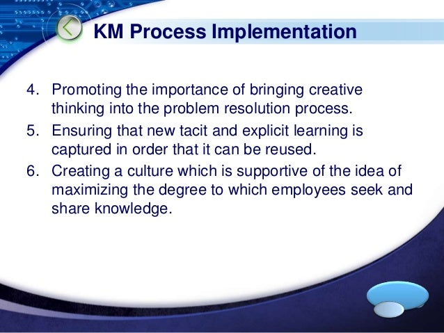 importance of explicit knowledge information technology essay The importance of information and communication and this is including information and communication technology (ict) area such as the health and social area ict provides the wider knowledge and information, which can help in gaining and accessing information.