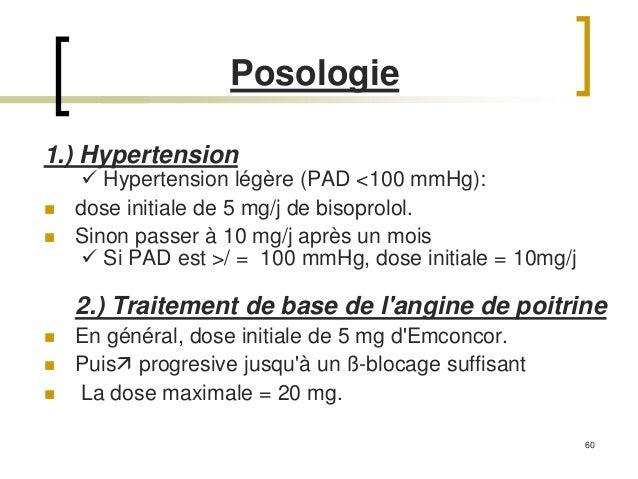 Presentation nawel aouabed emconcor Bisoprolol