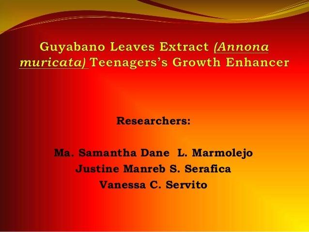 guyabano leaves thesis