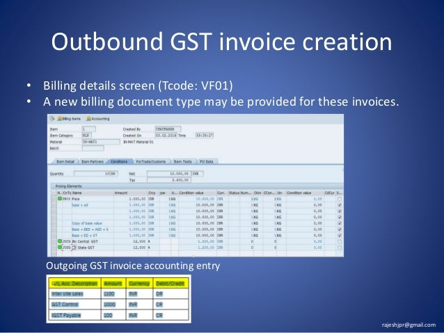 GST India - Invoice software in india