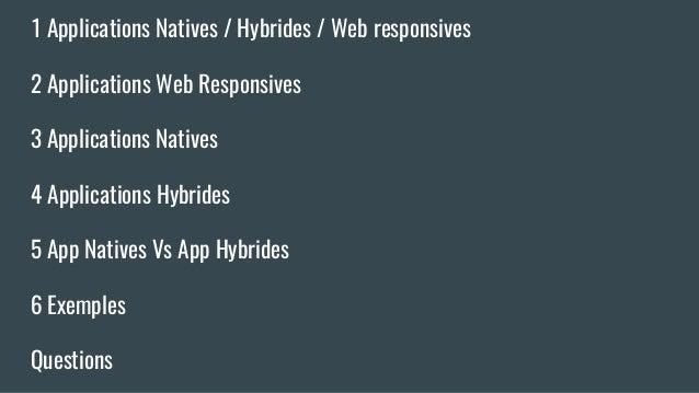 DevMobCA: Applications mobiles: Hybrid ou natif? Slide 3