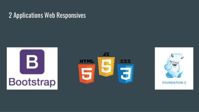 2 Applications Web Responsives