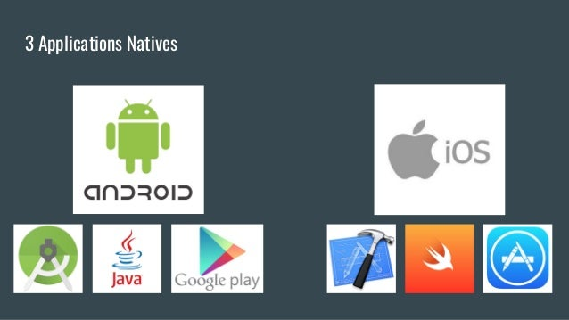 3 Applications Natives