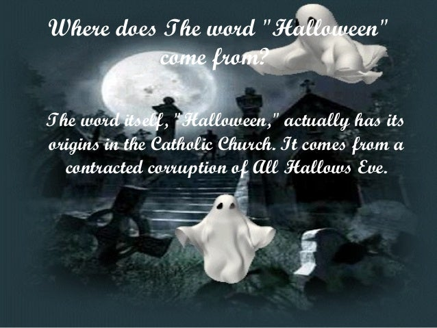 4 which are the origins of halloween - True Meaning Of Halloween Christian