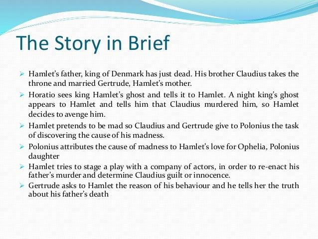 hamlet plot analysis essay