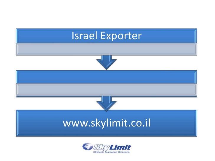 Israel Exporterwww.skylimit.co.il