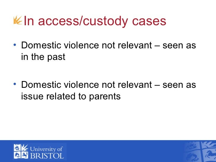 the issues of domestic violence Browse, search and watch domestic violence videos and more at abcnewscom.