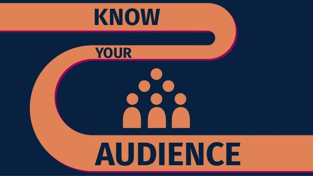 knowing the audience Knowing your target audience, you help you in solidify your message and increase your confidence in the steps to take to connect with that audience if you get one thing, get this - the power of your brand relies on your ability to focus and craft a marketing message that will convert prospects into customers.