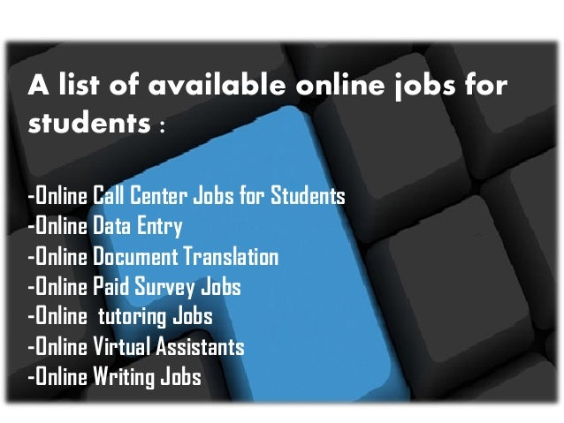 Useful Tips and Steps for Students Looking for Online Jobs Today