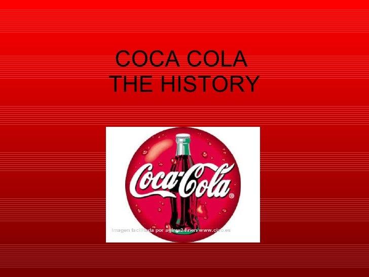 Presentation History Of Coca Cola