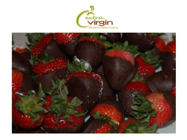 Extra Virgin Modern Italian Cuisine - a slideshow on EV Blog