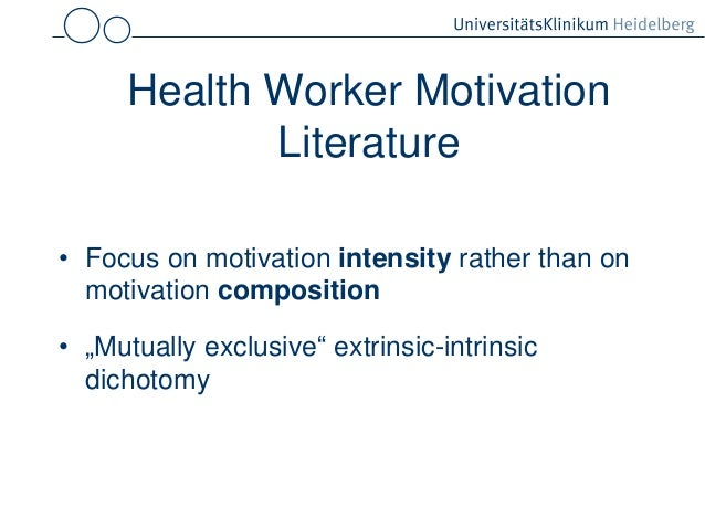 literature review of motivation in education Literature review of concepts and theories of motivation print a review of literature  demographics and human capital in terms of education and.