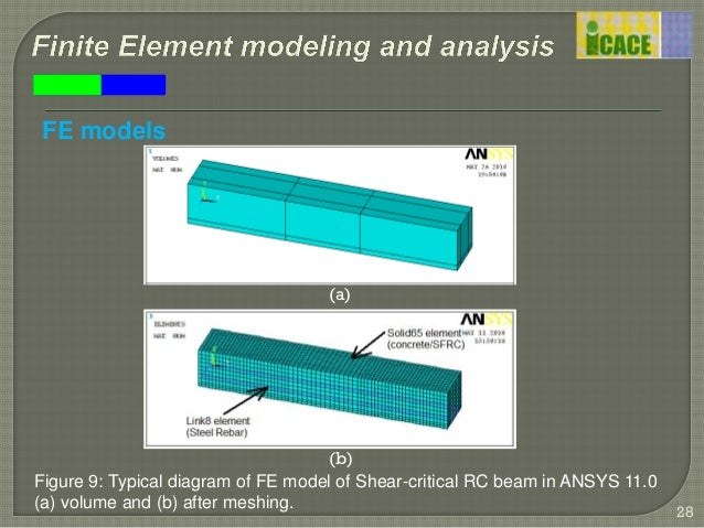 finite element modelling and analysis of Basic finite element analysis (fea) nafems e-learning course five sessions 25 hours per session new to fea and concerned about how to use it in the real world this course gives you.