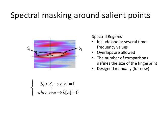 Current MASK regions 19 frames = 190ms  5 MEL bands