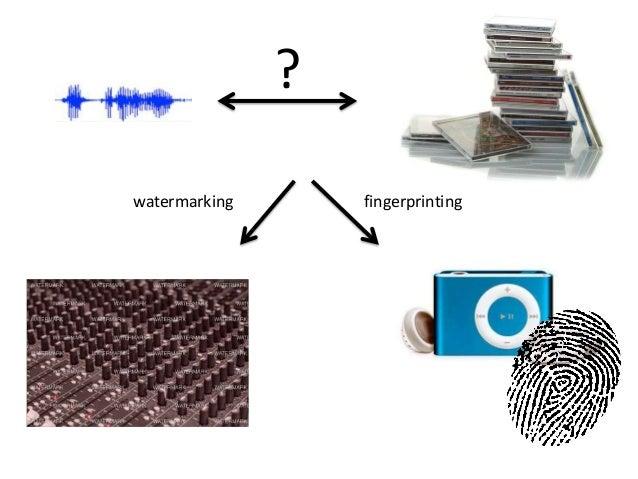 ? watermarking  fingerprinting