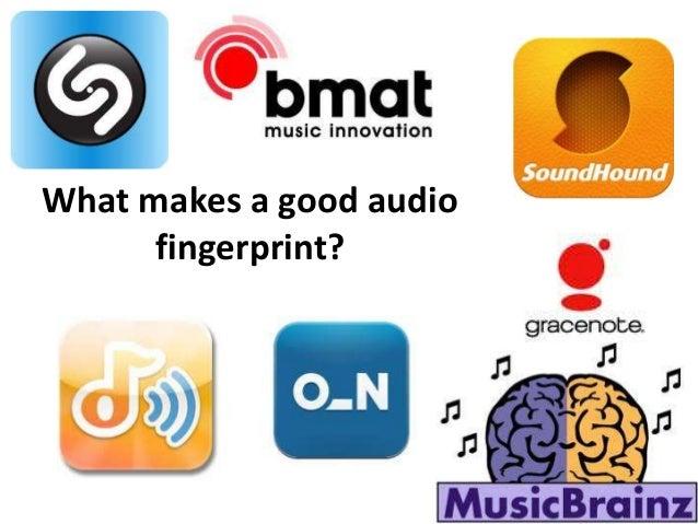 What makes a good audio fingerprint?