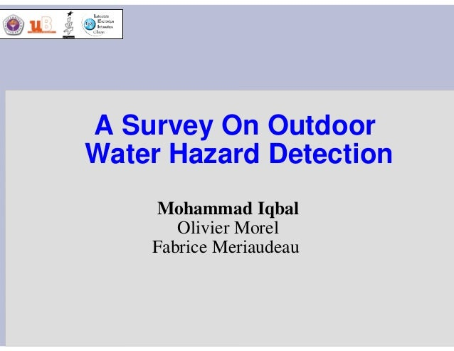 A Survey On Outdoor Water Hazard Detection Mohammad Iqbal Olivier Morel Fabrice Meriaudeau