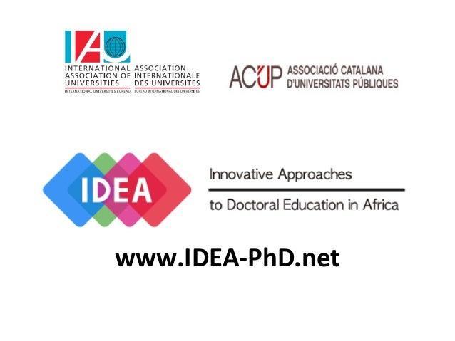 www.IDEA-PhD.net