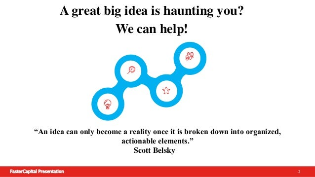Start your business project! Slide 2
