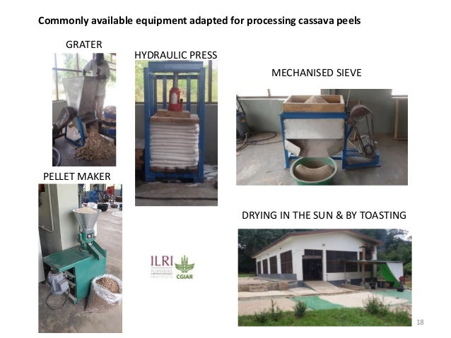 From Not-Want to Waste-Not: cassava peels as product