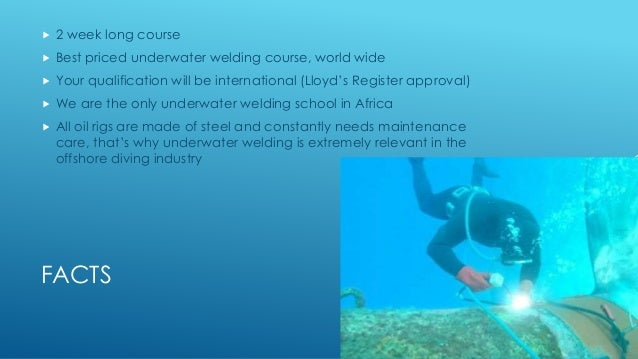 Underwater Welding Course for Commercial Divers