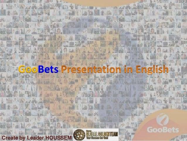 GooBets Create by Leader HOUSSEM J21