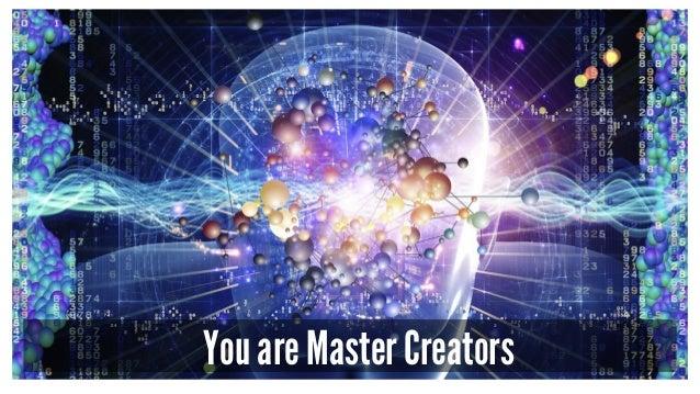 You are Master Creators