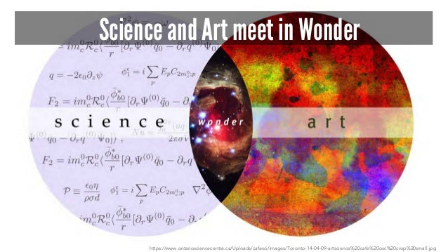 Science and Art meet in Wonder https://www.ontariosciencecentre.ca/Uploads/cafesci/images/Toronto-14-04-09-artscience%20ca...