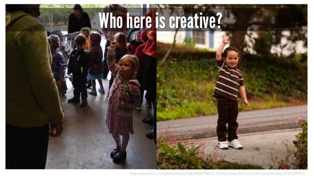http://www.flickr.com/photos/barretthall/3036598475/ & http://www.flickr.com/photos/carbonnyc/3135103537/ Who here is crea...