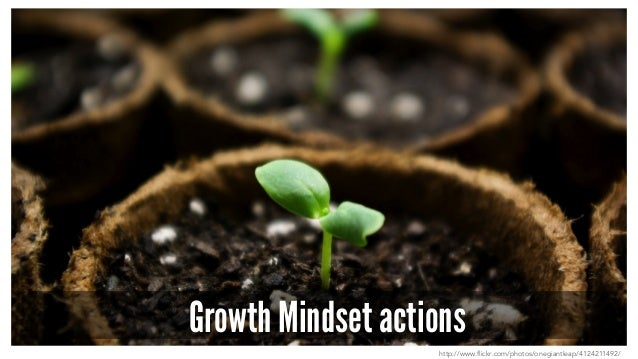 Growth Mindset actions http://www.flickr.com/photos/onegiantleap/4124211492/